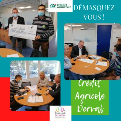 Signature Partenariat Crédit Agricole